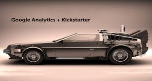 google analytics with kickstarter is now possible