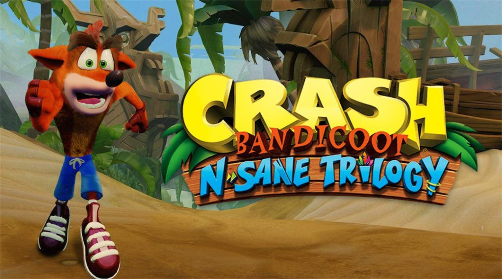 video game crash bandicoot n sane trilogy