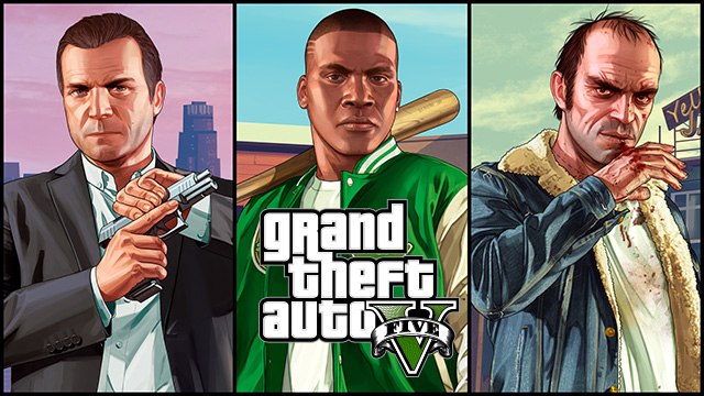 video game grand theft auto v
