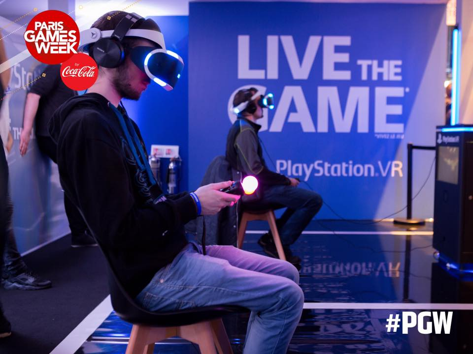 paris games week virtual reality