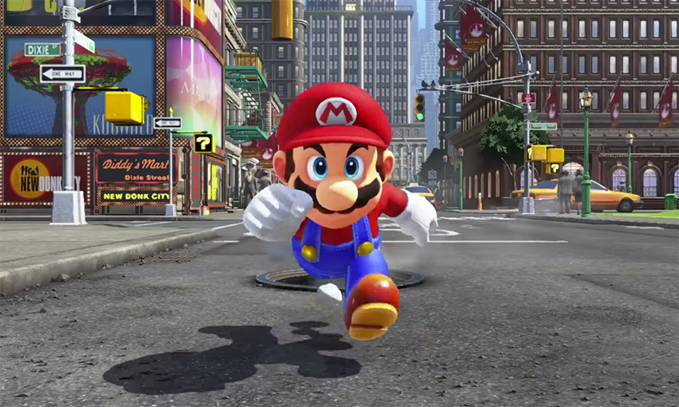 video game super mario odyssey