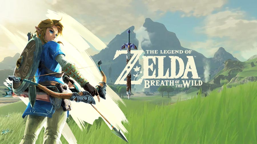 video game the legend of zelda breath of the wind